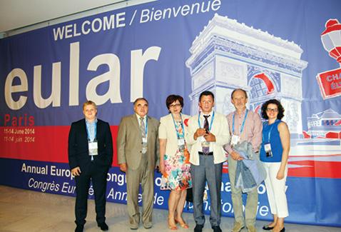 Конгресс EULAR 2014 (Париж,11–14 июня): обзор поматериалам конгресса
