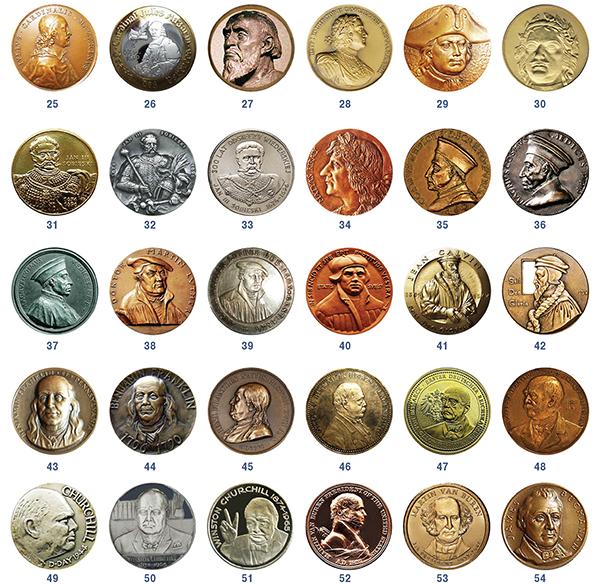 Num 02 600 Знаменитые «подагрики» внумизматическом изображении